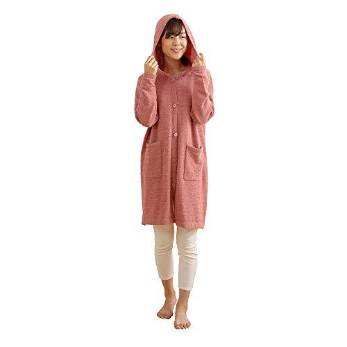 ナイスデイ 着る毛布 ピンク Mサイズ ふんわりニット ロン...