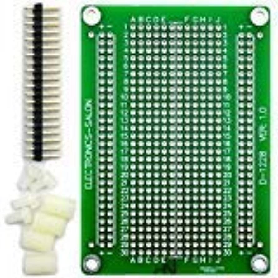 味方従順な会話Electronics-Salon ラズベリーパイ2/3モデル んだ付け可能なブレッドボードプロトボードPCB DIYキット B A + B +ゼロ