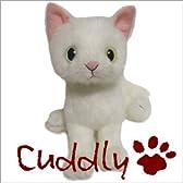 <Cuddly>カドリー 仔ネコのヌイグルミ ドロップス シロ (Dorops Shiro) オッドアイ