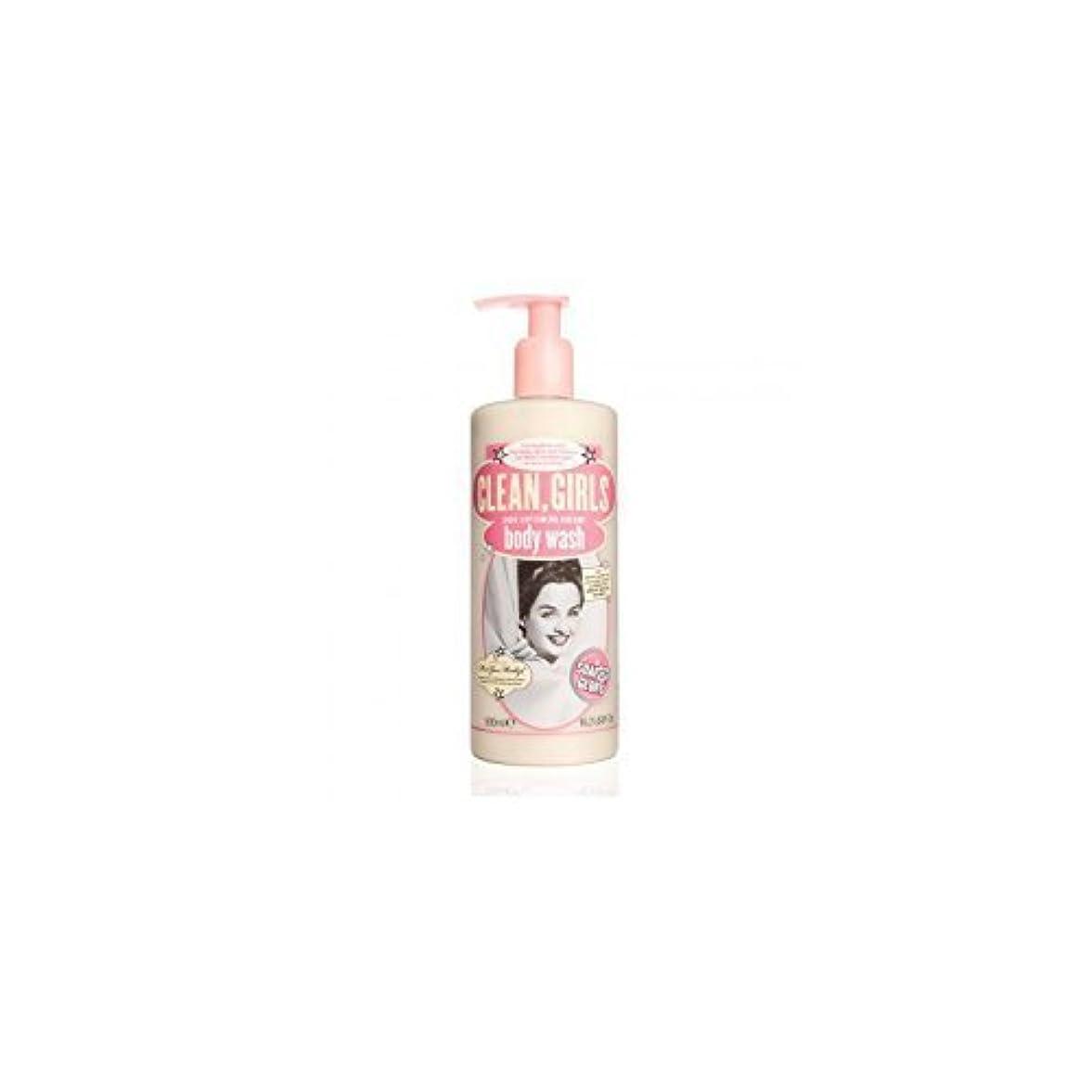 自治ボンド手伝うSoap & Glory Clean Girls Body Wash 500ml by Trifing