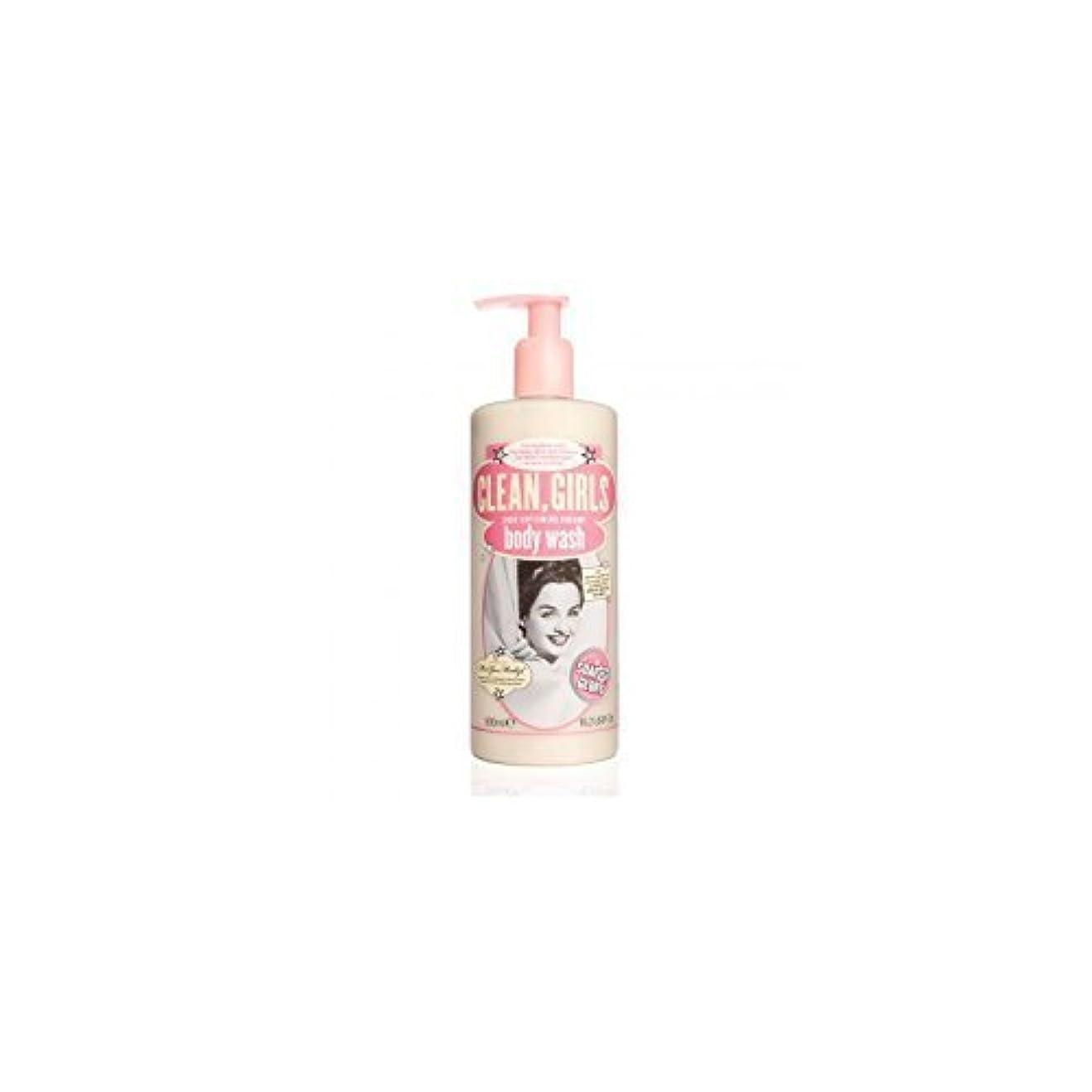 配列資格ブランドSoap & Glory Clean Girls Body Wash 500ml by Trifing