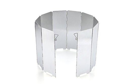 Etpark風除板 ウインドスクリーン 折り畳み式 防風板 アルミ製 10...