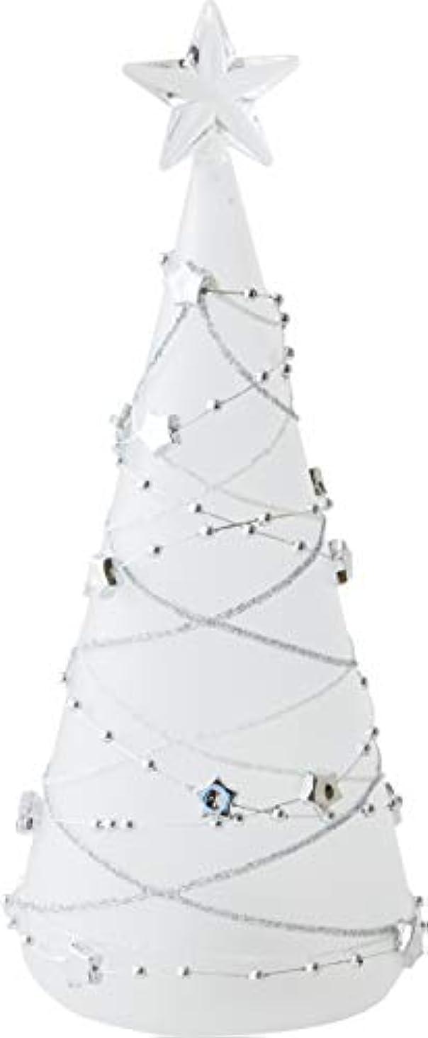 凝縮する強調美容師カメヤマキャンドルハウス LEDグラスツリー S フロスト 1個