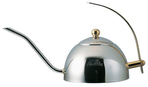 カリタ ステンレス製ドリップポット600S(茶こし付き) 600ml #52039
