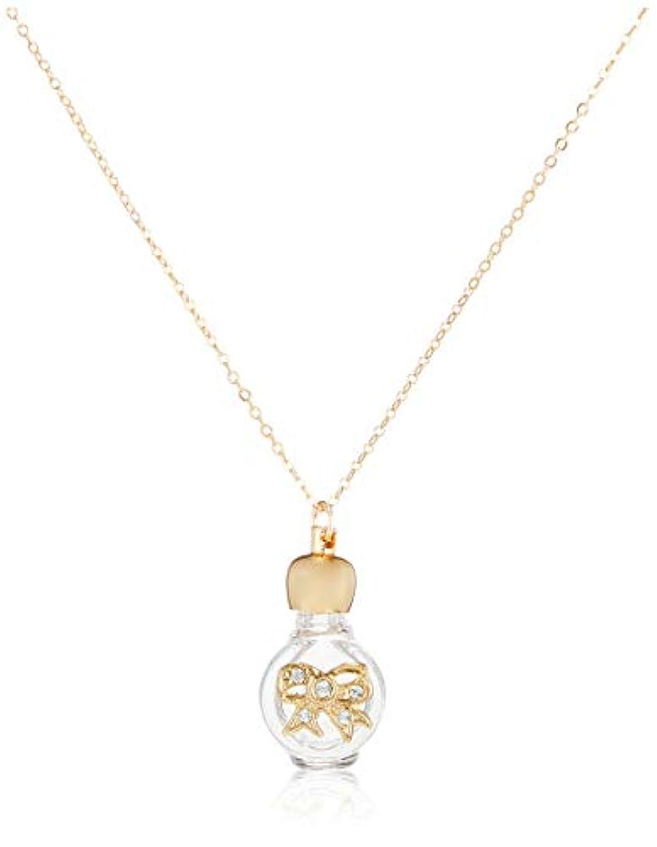 代数的負担ゴールドヒロセアトマイザー 飾り付 アロマペンダント密閉栓タイプ 12074P リボン (ゴールド)