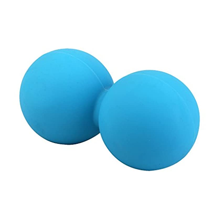 火炎機知に富んだ剥離Footful マッサージボール 健康グッズ 健康器具 血液循環促進 緊張緩和 ブルー 固体