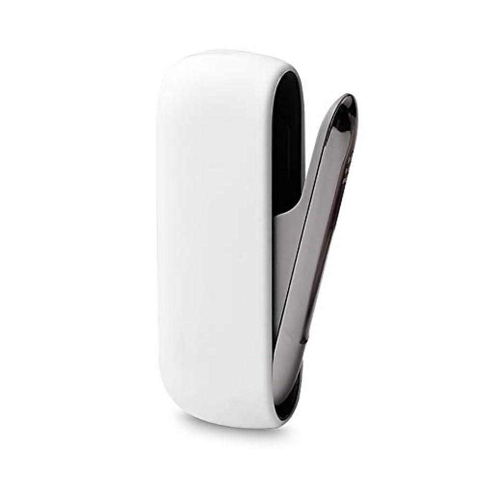 くるみ震え以来MADMOON IQOS 3 用のケース 対応 シリコーン スリーブ 滑り止め 保護ケース 耐衝撃 指紋防止 本体を傷防止 (ホワイト)