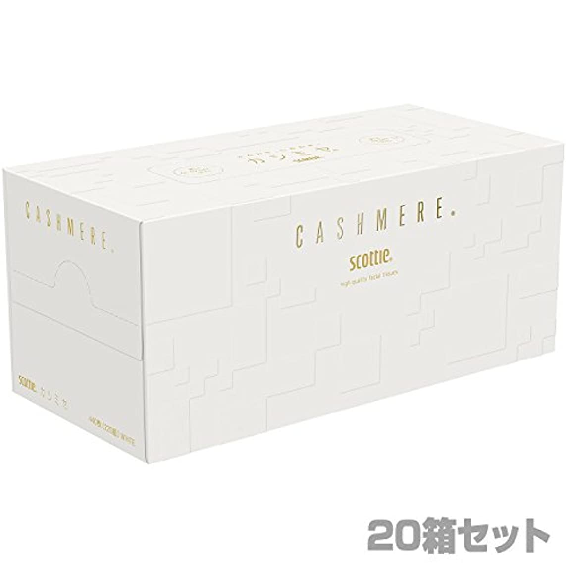 させる受け入れた機関車日本製紙クレシア スコッティ カシミヤ ティッシュペーパー440枚(220組)×20箱 44357