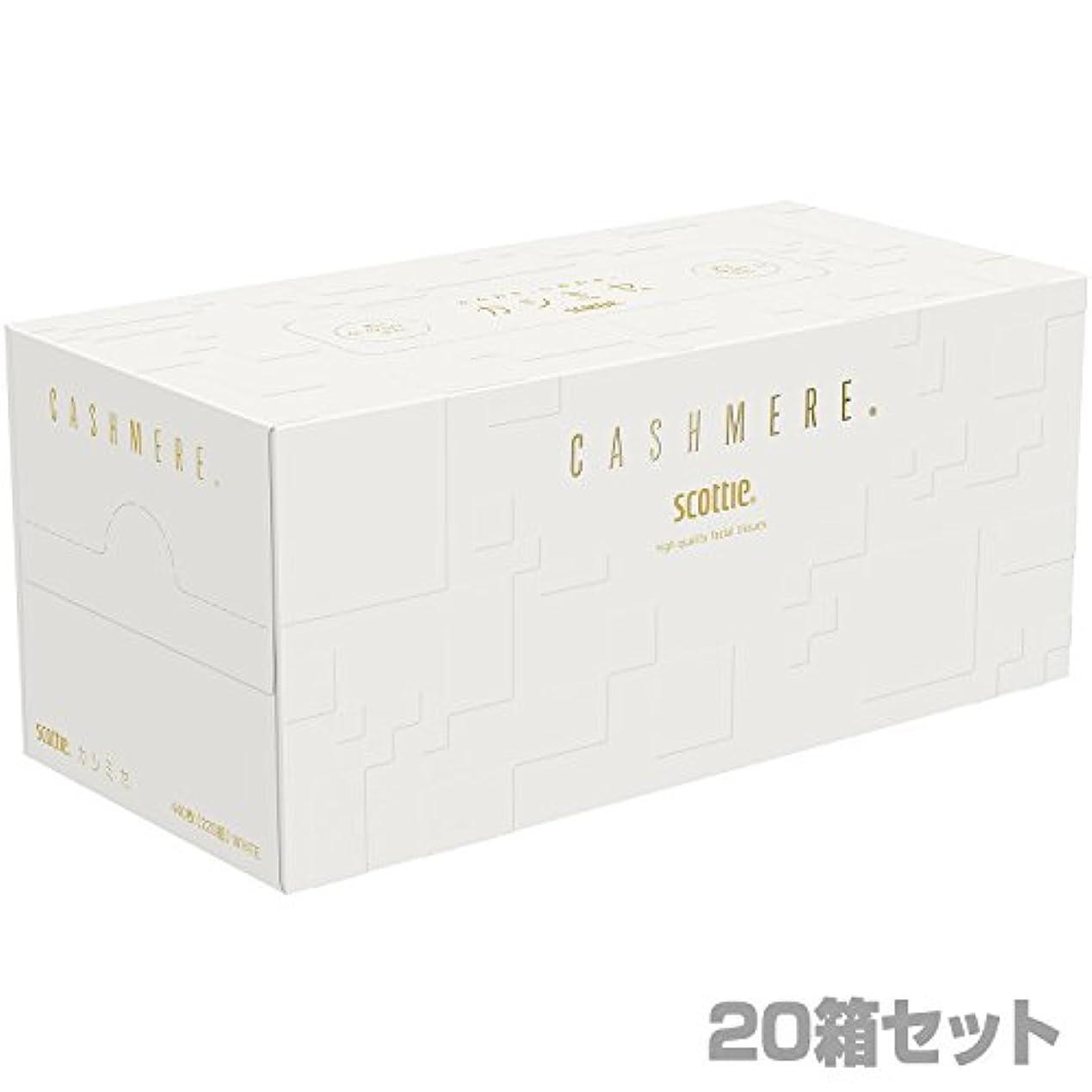 どうやら野心男らしい日本製紙クレシア スコッティ カシミヤ ティッシュペーパー440枚(220組)×20箱 44357