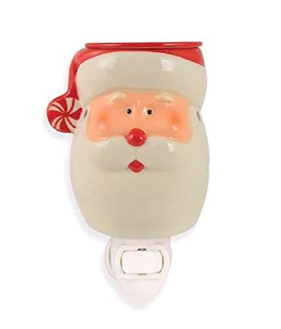 眉人工的な時々Tuscany キャンドル プラグイン サンタ ワックスウォーマー クリスマス ホリデー ホームデコレーション