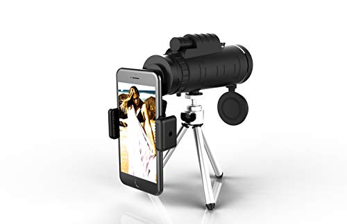 単眼望遠鏡 40X60 高解像度の高さはそわそわする ズーム...
