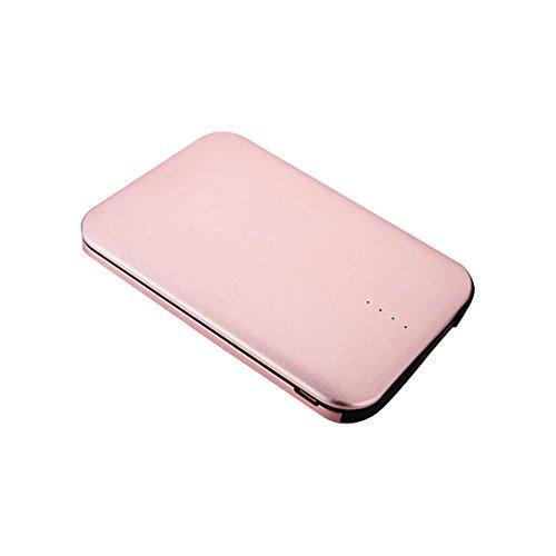 モバイルバッテリー ケーブル内蔵 8000mAh 大容量 小型 軽量 薄型 コンパクト 急速充電 ライトニング スマホ 充電器 iPhone & Android 2枚目のサムネイル