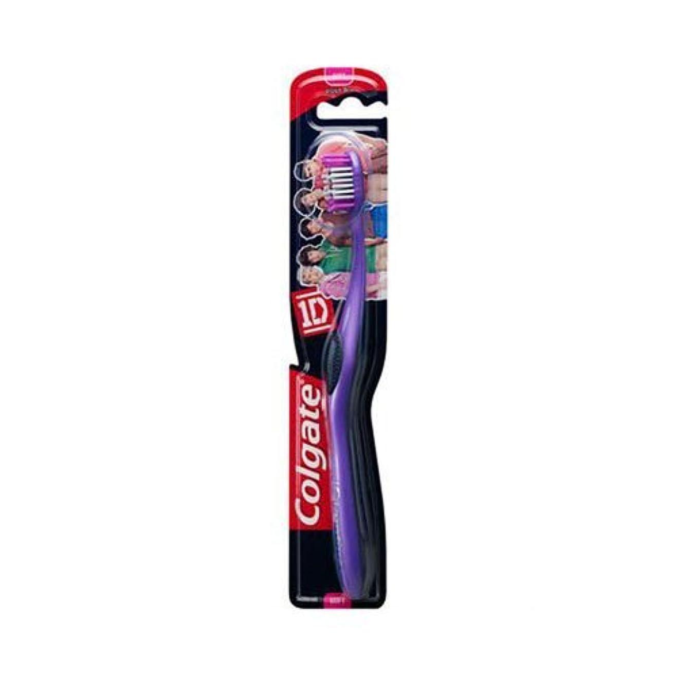 はちみつシロクマ脚本家Colgate 1d (One Direction) Maxfresh Soft Toothbrush Age 8+ by Colgate [並行輸入品]