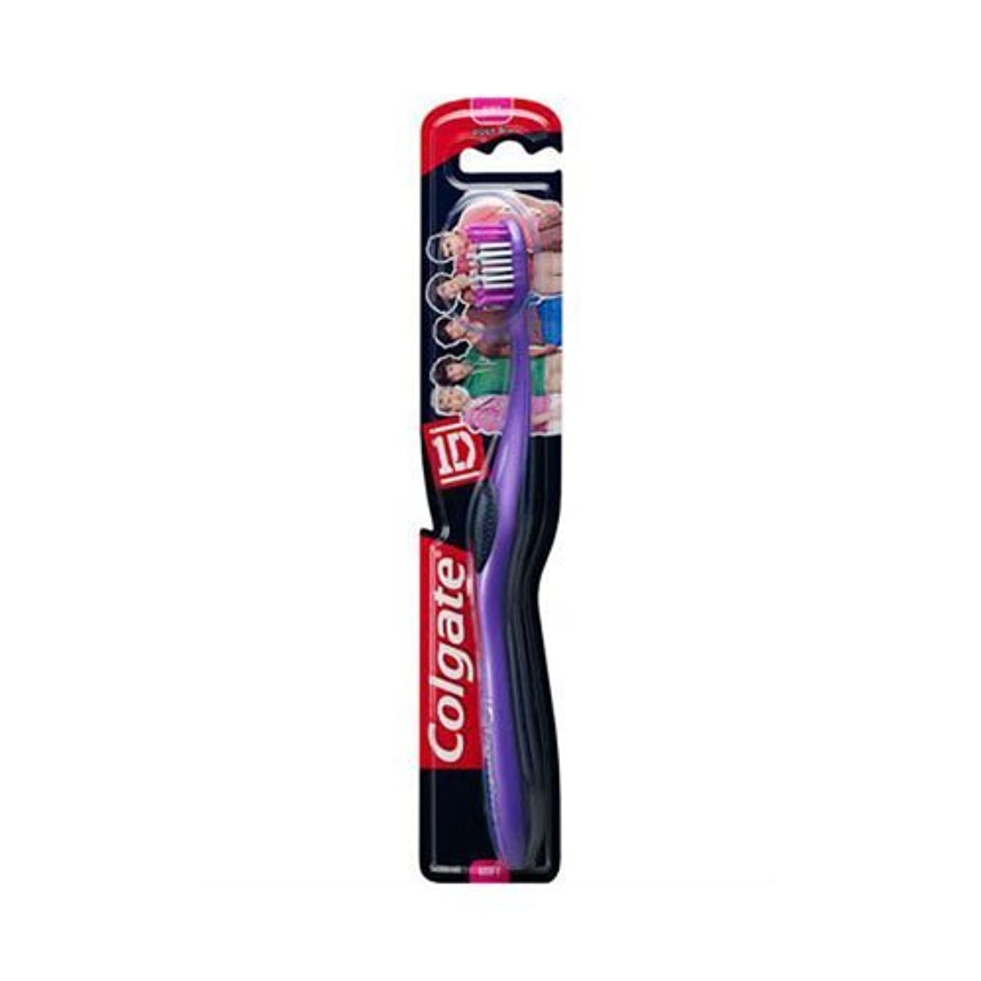試験発送ひらめきColgate 1d (One Direction) Maxfresh Soft Toothbrush Age 8+ by Colgate [並行輸入品]