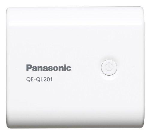 パナソニック モバイルバッテリー 5,400mAh USBモバイル電源 ホワイト QE-QL201-W