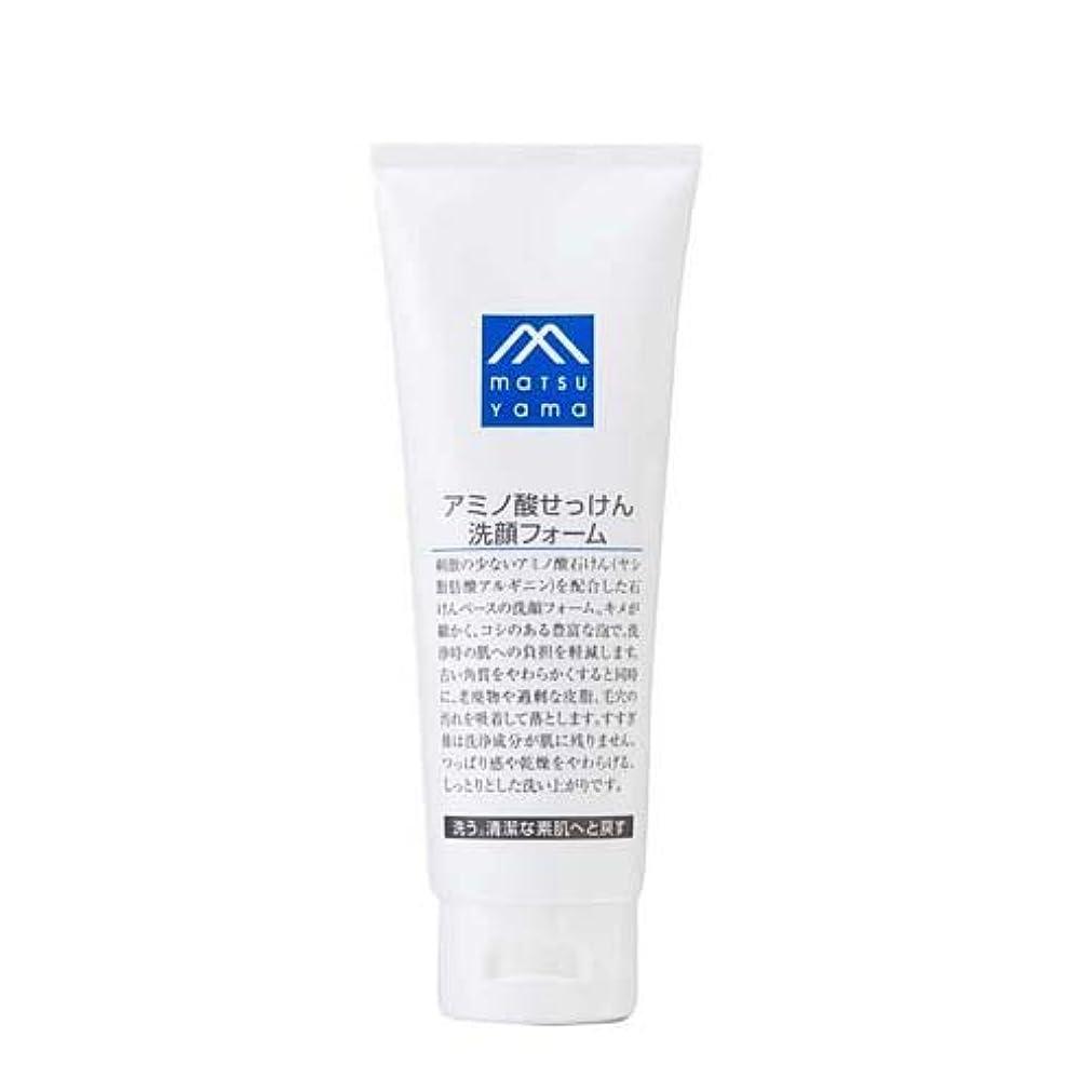 けがをする奪う勧めるMマーク アミノ酸せっけん洗顔フォーム