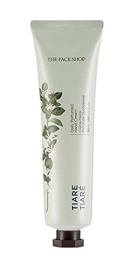 性別執着厚さ[1+1] THE FACE SHOP Daily Perfume Hand Cream [02. Tiare] ザフェイスショップ デイリーパフュームハンドクリーム [02. ティアレ] [new] [並行輸入品]