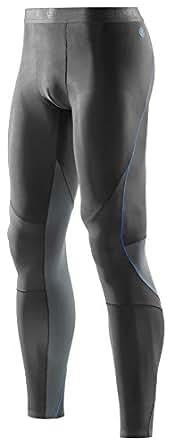 SKINS(スキンズ) Ry400 コンプレッション ロング タイツ (リカバリー) (Graphait/Blue) [メンズ] [並行輸入品]