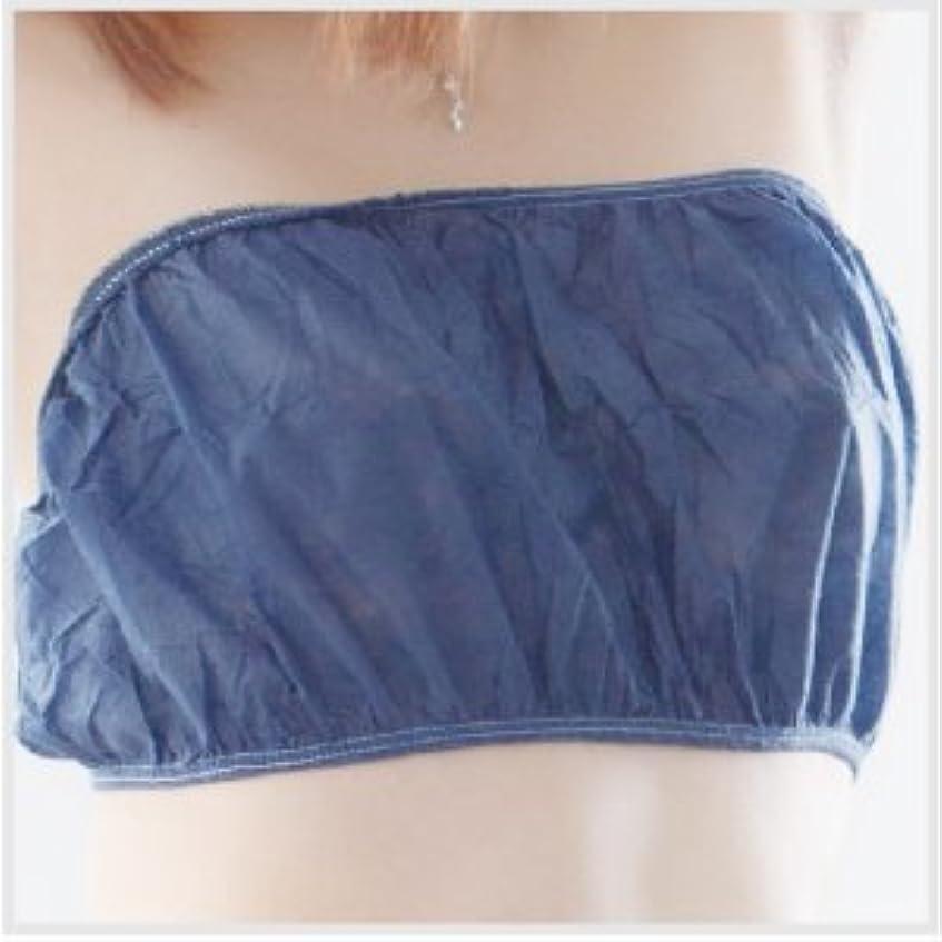 受ける悲鳴防水◆ペーパーブラ(フリーサイズ) 50枚入 紺