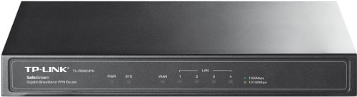 TP-Link Safestream VPN ルーター ギガビット Ipsec対応 高速通信 雷サージ防止 強固 ファイウォール機能 5年保証 TL-R600VPN