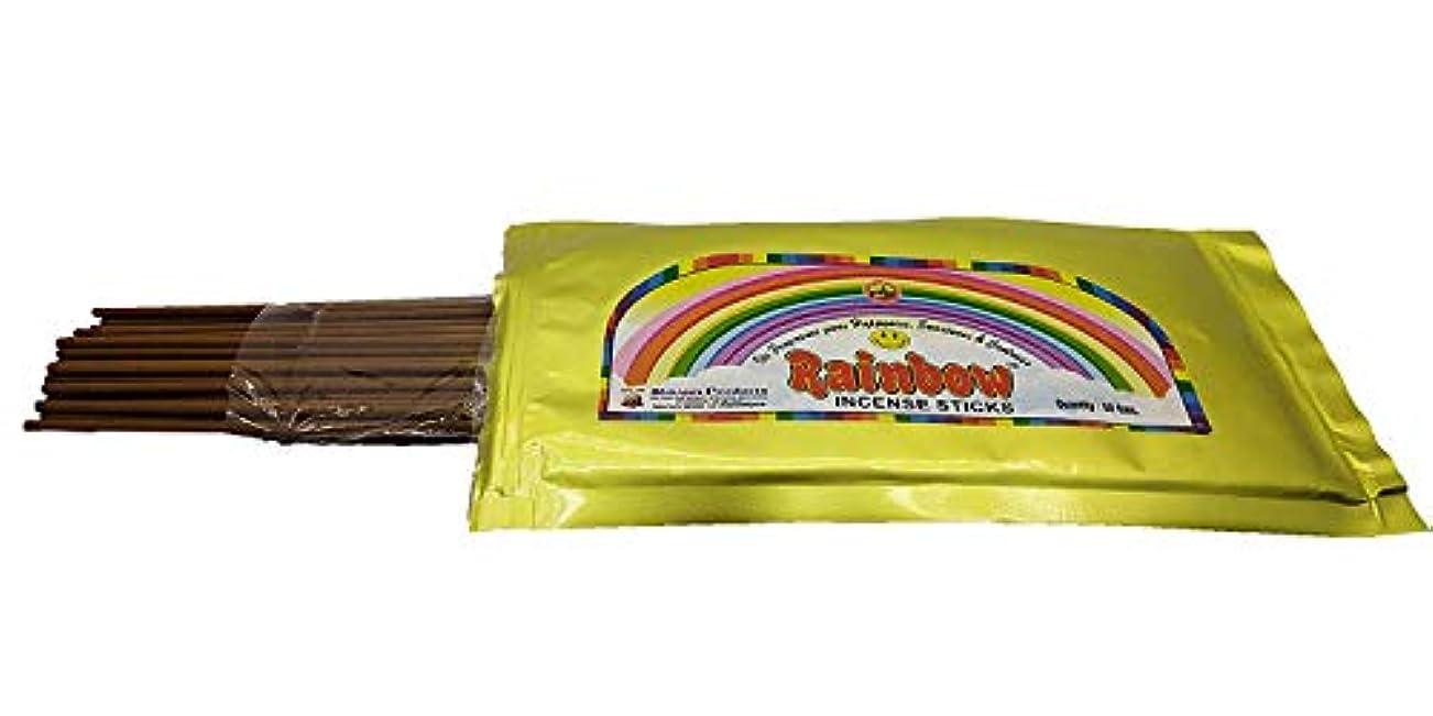 上にエチケット寄託DruArts Bamboo Incense Sticks with Zipper Pouches & a Sacred Games Sign Incense Stand -Round Shaped