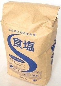 財団法人 塩事業センター 日本産(国産塩) 食塩(日本の海水) 5kg×96袋