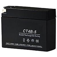 バイクパーツセンター GT4B-5 ユアサ互換 シールド型 液入充電済 バイク用高性能バッテリー CT4B-5【GT4B-5/YT4B-5/YT5B-BS互換】