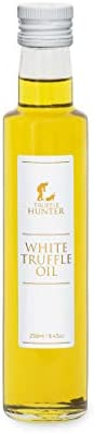 White Truffle Oil (250ml) [Double Concentrated] by TruffleHunter - Made with Extra Virgin Olive Oil - Kosher,
