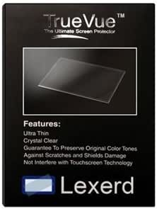 Lexerd Compatible with Sony DCR-SR60 TrueVue Crystal Clear Digital Camcorder Screen Protector