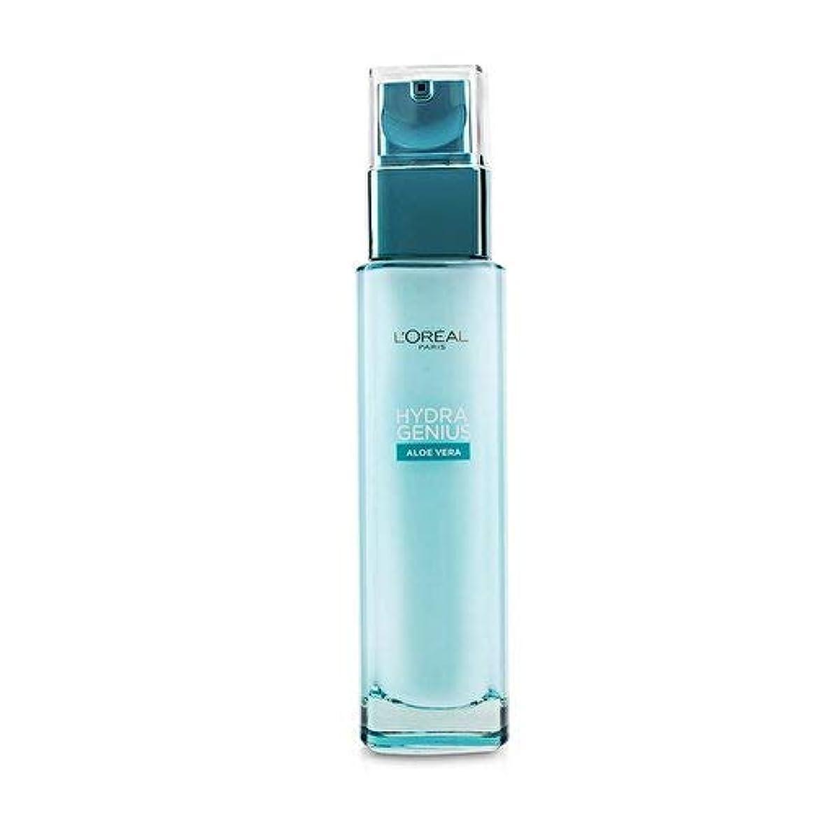 カフェ修士号腹痛ロレアル Hydra Genius Aloe Vera Liquid Care - For Dry & Sensitive Skin 70ml/2.3oz並行輸入品