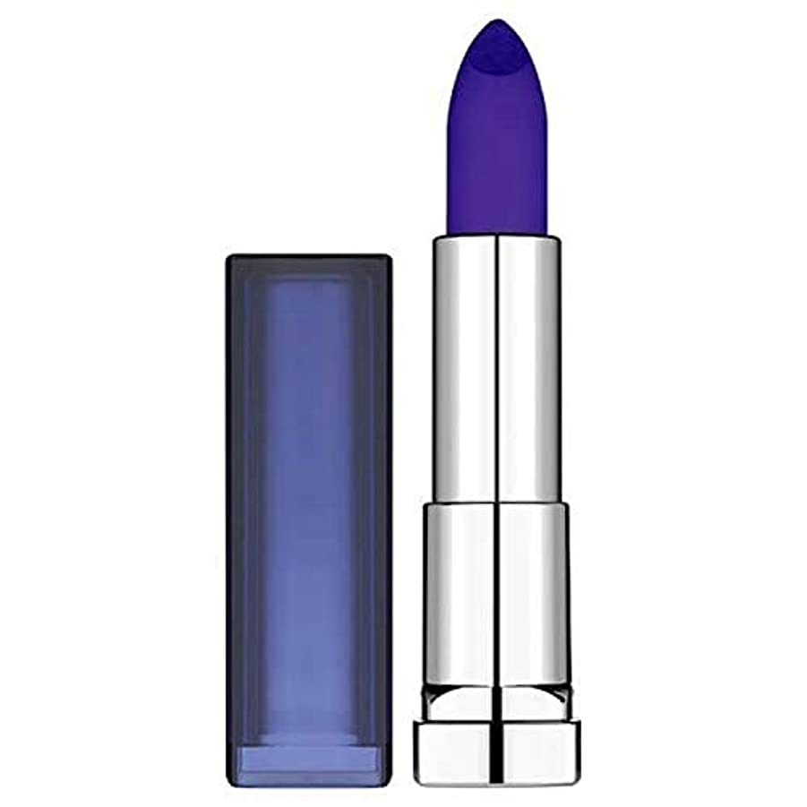風刺ピーク生まれ[Maybelline ] メイベリンカラーセンセーショナルなロードされた太字のサファイアサイレン - Maybelline Color Sensational Loaded Bolds Sapphire Siren [...