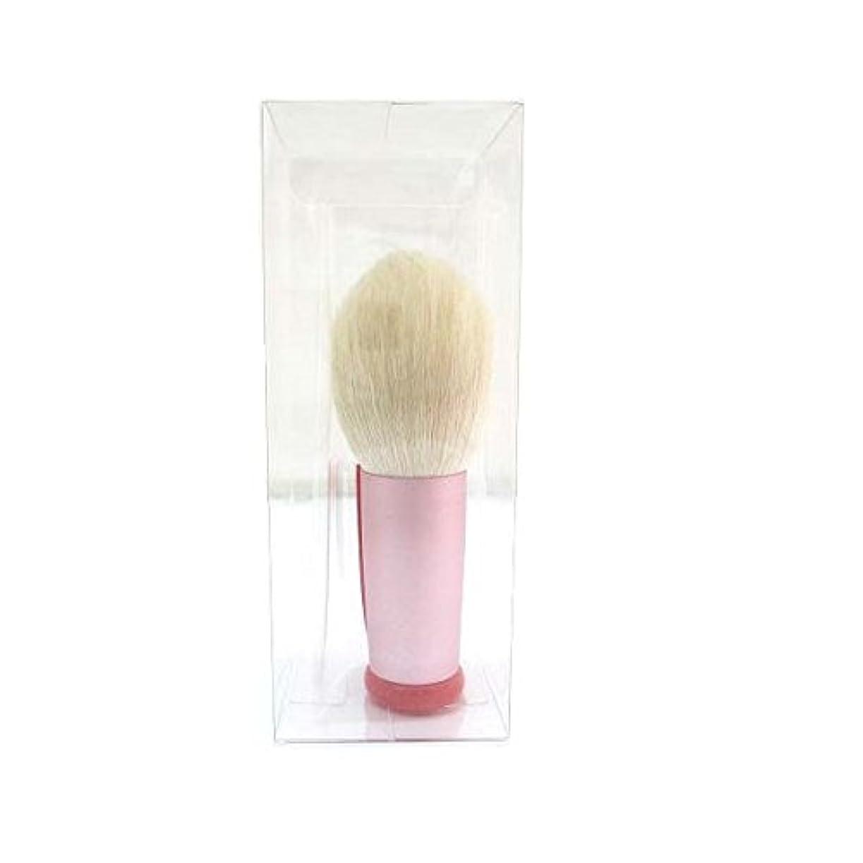 雄弁家ポスター識別広島熊野筆 フォーミング洗顔ブラシ(ピンク)