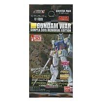 ガンダムウォー コラボレーションブースター ガンプラ30thメモリアルエディション 【Single Pack】 カードダスマスターズG GUNDAM WAR