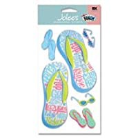 JoleeのブティックLe Grande A Day at theビーチstickers-flip Flop