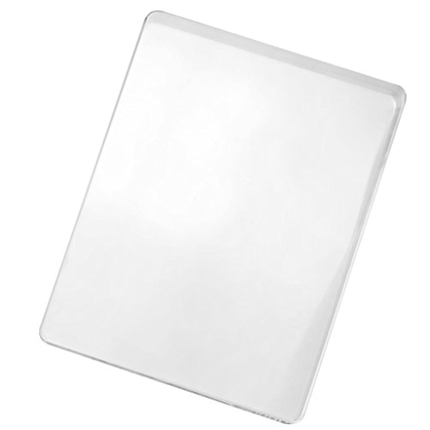 だらしないコミットメント低い磨き板 ガラス板 レザークラフト 8mm
