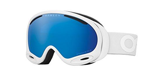 OAKLEY(オークリー) A-FRAME 2.0 FACTORY PILOT WHITEOUT W/ PRIZM SHAPPHIRE IRID ALT FIT OO7077-08-K00693 ゴーグル スノーボード