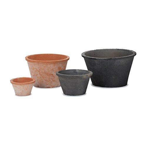 RoomClip商品情報 - 植木鉢 陶器 モスポット 100 3号 グレー