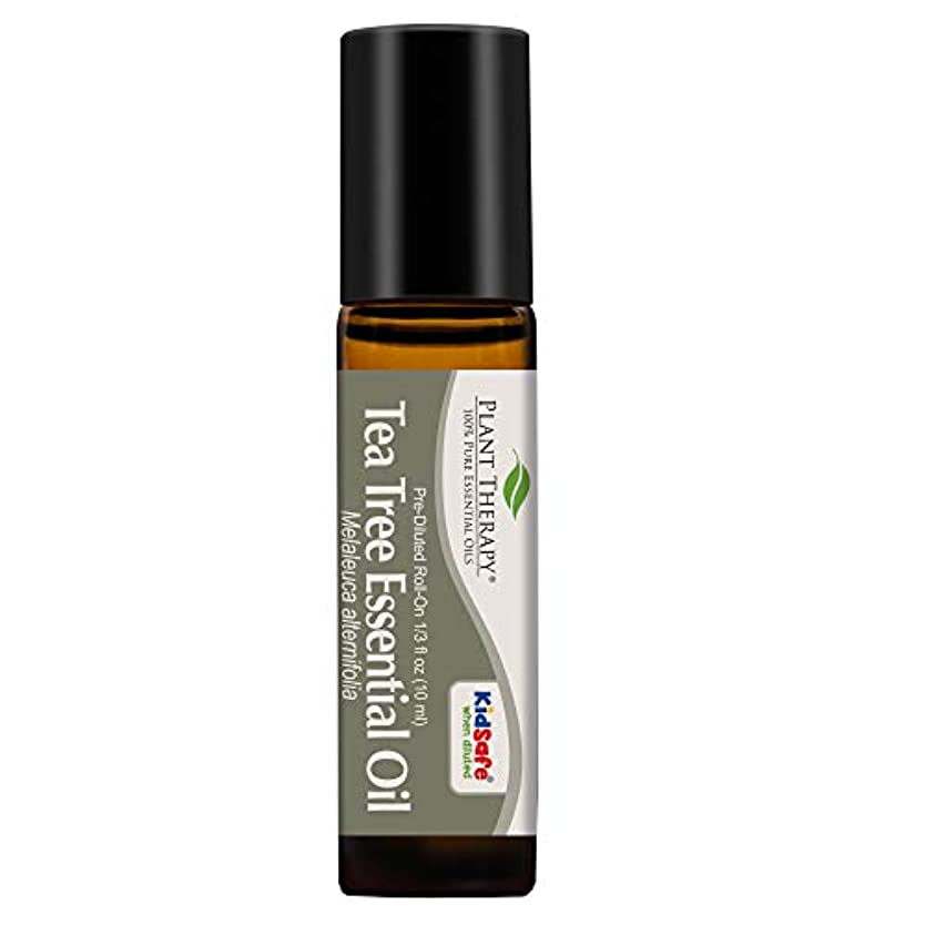 バースブルームバトルPlant Therapy Tea Tree Pre-Diluted Roll-On 10 ml (1/3 fl oz) 100% Pure, Therapeutic Grade