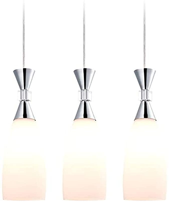 阻害する四抑止するレストランシャンデリアと3ヘッドレストランペンダントライトリビングルーム照明3 LED [エネルギーレベルA生産