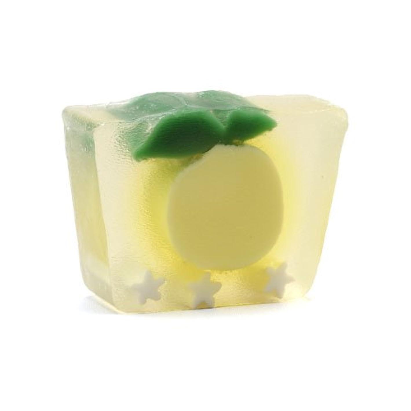 些細な幻想的謎めいたプライモールエレメンツ アロマティック ミニソープ カリフォルニアレモン 80g 植物性 ナチュラル 石鹸 無添加