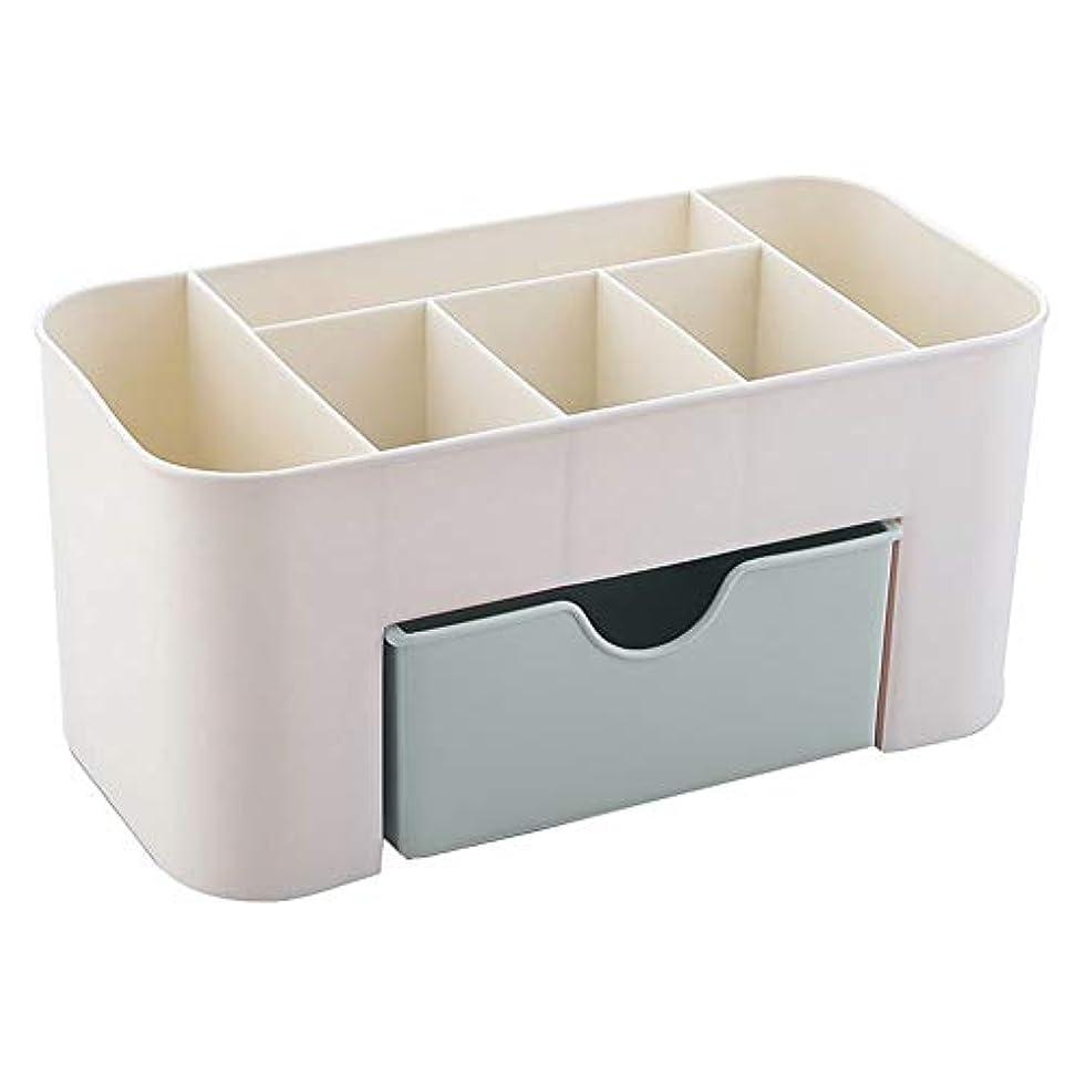 気を散らすホイストカップTerGOOSE 化粧品収納ボックス メイクボックス 収納ケース メイクボックス メイクケース 騒音なし ジュエリー 化粧品 小物 収納 引き出し式 卓上収納 安定 コスメ収納 大きな置き場 ギフト(グリーン)