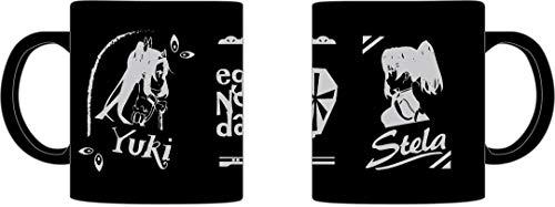 エガオノダイカ マグカップ(マットブラック) ユウキ&ステラ
