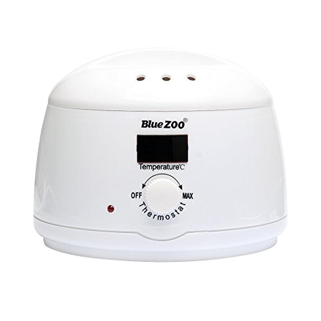 台風実施する尽きるRabugoo セクシー デジタル表示ワックス豆ワイマー脱毛ホットワックスヒーターマシン Digital display British regulations