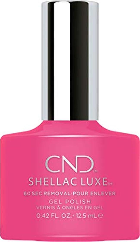 行商人視聴者サバントCND Shellac Luxe - Pink Bikini - 12.5 ml / 0.42 oz