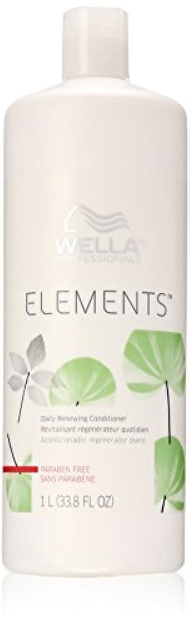 セールステッチ大気Wella Elements Conditioner, 33.8 Ounce