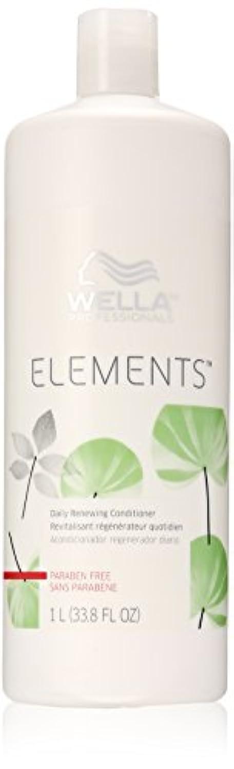 人物おとなしい全能Wella Elements Conditioner, 33.8 Ounce