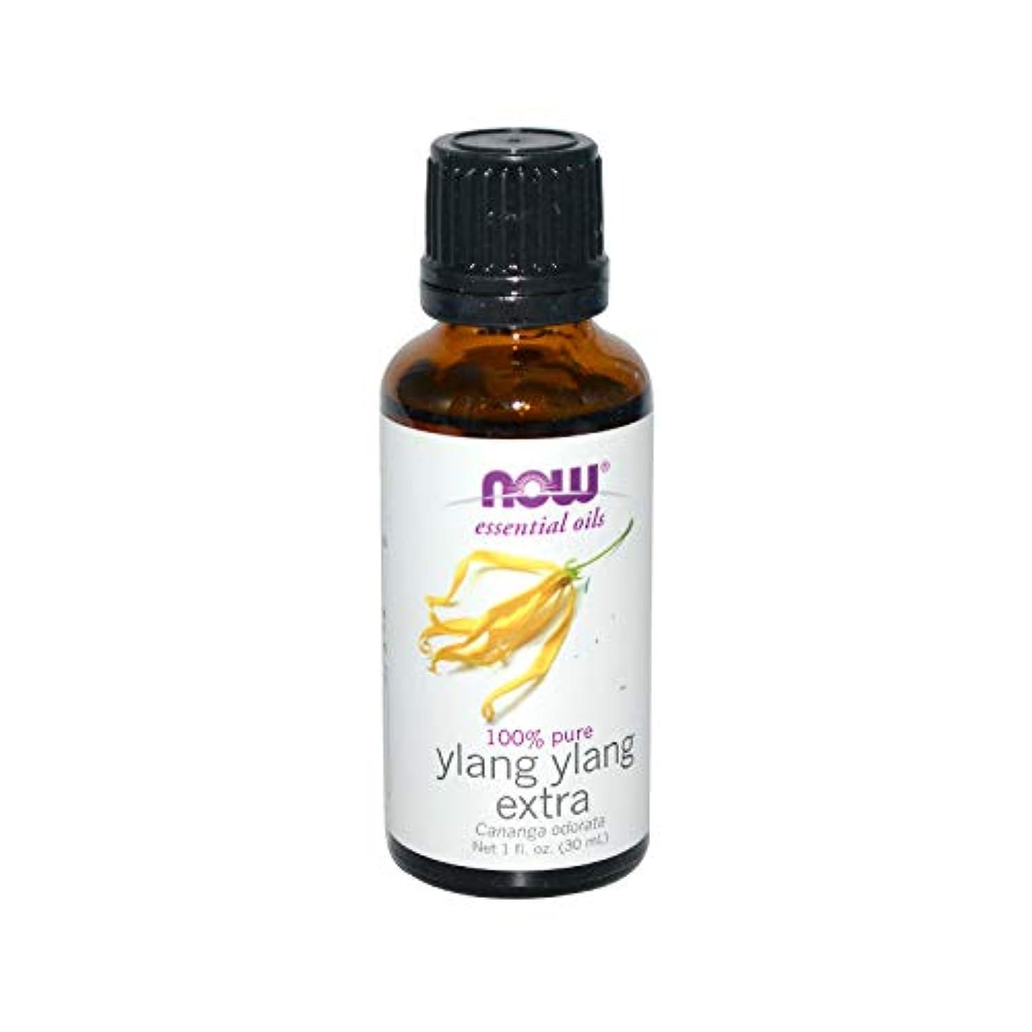 帰するチラチラする定規海外直送品 Now Foods Ylang Ylang Oil, 1 OZ