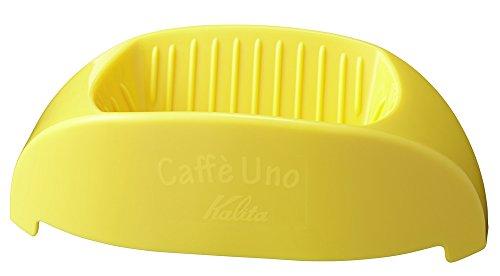 カリタ コーヒードリッパー 1杯専用 カフェ・ウノ イエロー #04027