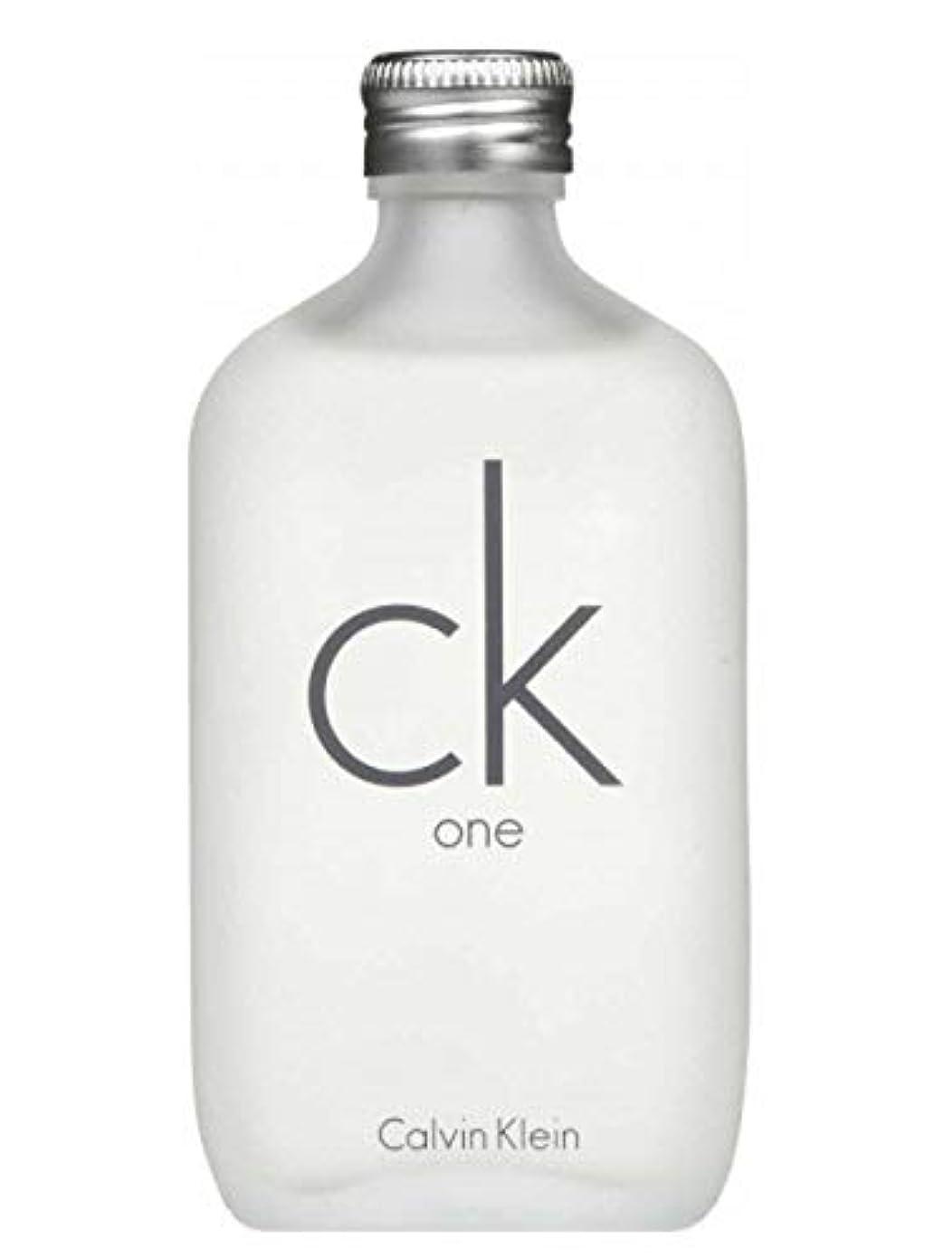 暗唱する艶初期カルバン クライン 香水 シーケーワン (CK ONE) EDT SP 100ml 【並行輸入品】