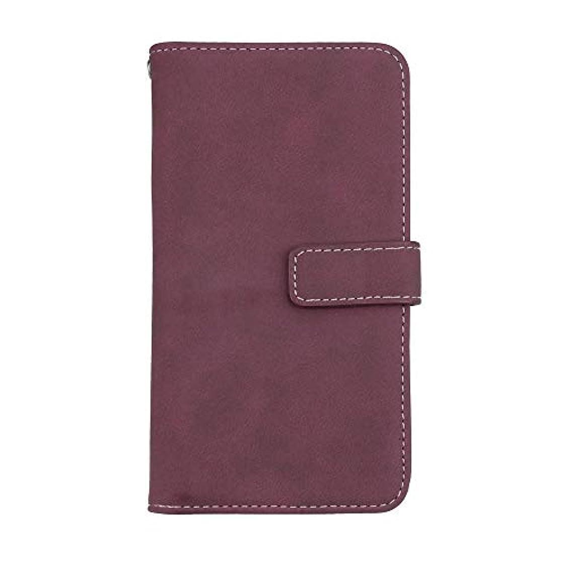 モンキーパスポートチューリップXiaomi Redmi 6 Pro 高品質 マグネット ケース, CUNUS 携帯電話 ケース 軽量 柔軟 高品質 耐摩擦 カード収納 カバー Xiaomi Redmi 6 Pro 用, ローズレッド